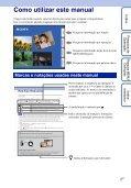 Sony DSC-WX5 - DSC-WX5 Consignes d'utilisation Portugais - Page 2