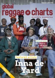 Global Reggae Charts - Issue #2 / June 2017