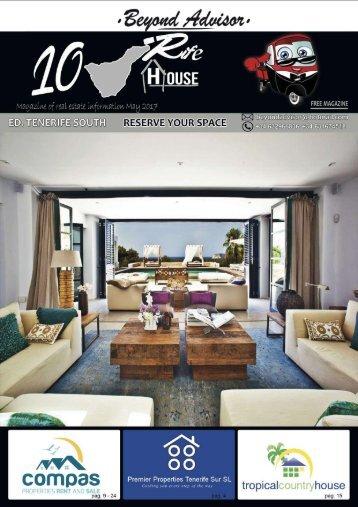 Revista 10RifeHouse -  Mayo 2017 / Magazine of Real Estate - May 2017