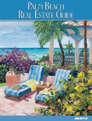 Palm Beach Real Estate Guide June 2017