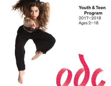 ODC Youth and Teen Program 2017/2018