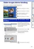 Sony DSC-WX5 - DSC-WX5 Consignes d'utilisation Danois - Page 2