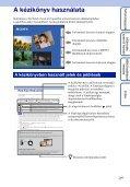 Sony DSC-WX5 - DSC-WX5 Consignes d'utilisation Hongrois - Page 2