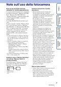 Sony DSC-WX5 - DSC-WX5 Consignes d'utilisation Italien - Page 3