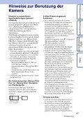 Sony DSC-WX5 - DSC-WX5 Consignes d'utilisation Allemand - Page 3