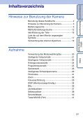 Sony DSC-WX5 - DSC-WX5 Consignes d'utilisation Allemand - Page 5