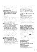 Sony HDR-XR550E - HDR-XR550E Consignes d'utilisation Danois - Page 3
