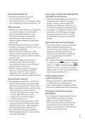 Sony HDR-XR550E - HDR-XR550E Consignes d'utilisation Finlandais - Page 3