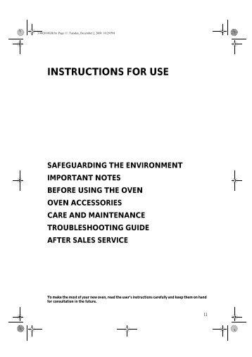 KitchenAid G2P 60C/01 BR - G2P 60C/01 BR EN (854186815000) Istruzioni per l'Uso