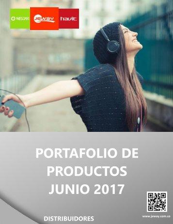 PORTAFOLIO DISTRIBUIDORES JUNIO 2017