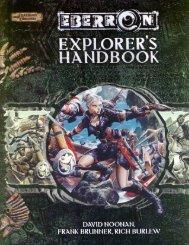 Explorer's Handbook