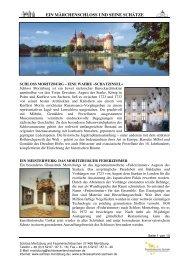 ein märchenschloss und seine schätze - Schloss Moritzburg
