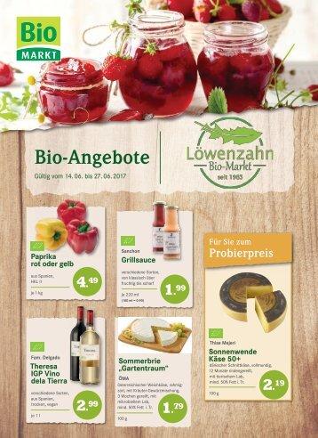 Angebotsflyer Löwenzahn Bio-Markt ab 24. KW
