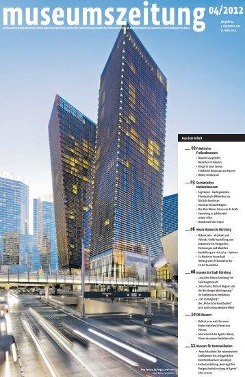 Museumszeitung, Ausgabe 44 vom 4. Dezember 2012