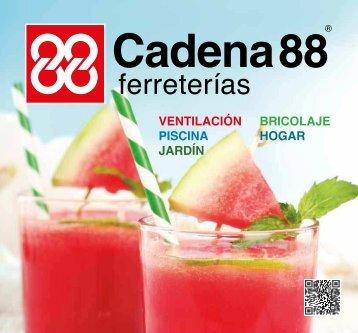 Catálogo Cadena88 VERANO hasta 31 de Agosto 2017