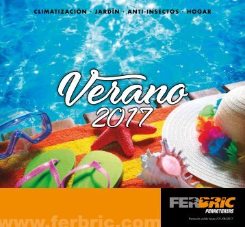 Catálogo Ferbric VERANO hasta 31 de Agosto 2017
