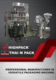 Highpack Machinery S/B - Packing Machine Catalogue