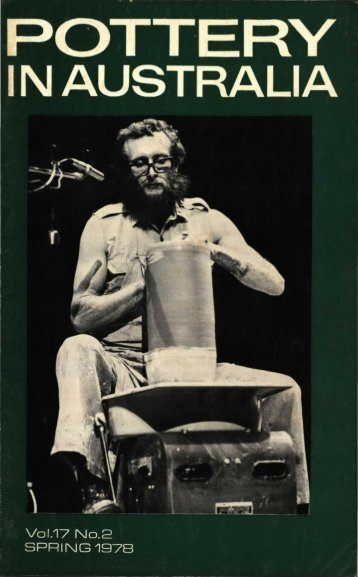 Pottery In Australia Vol 17 No 2 Spring 1978