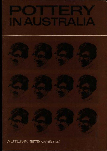Pottery In Australia Vol 18 No 1 Autumn 1979