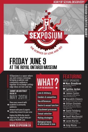 SEXposium 2017 Program