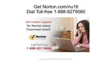 Norton.com/nu16 - 18888279060 - Norton.com/Setup