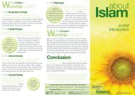 Brochure - About Islam