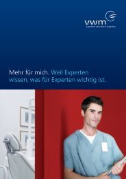 MKG-Chirurgen, Oralchirurgen, Zahnärzte - VWM Versicherungs ...
