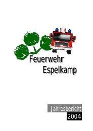 Feuerwehr Espelkamp Feuerwehr Espelkamp - Freiwillige ...