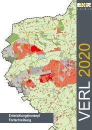 Entwicklungskonzept: Verl 2020 - Stadt Verl