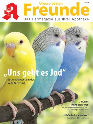 """Leseprobe """"Unsere besten Freunde"""" Juli 2017"""