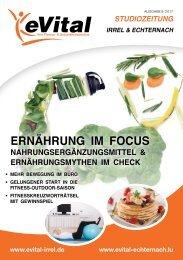 eVital Studiozeitung - Ausgabe 5
