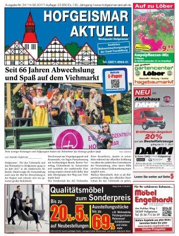 Hofgeismar Aktuell 2017 KW 24