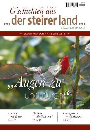 ... der steirer land ... Ausgabe 02/2017