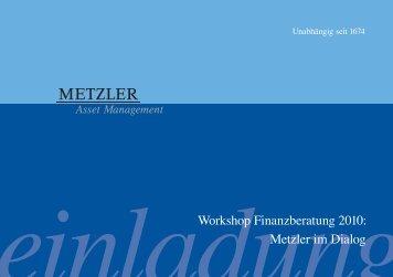einladung - Verband unabhängiger Vermögensverwalter Deutschland eV