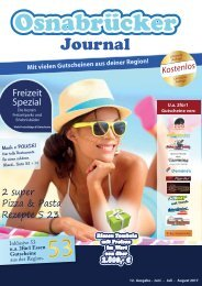 Osnabrücker Journal Sommer 2017