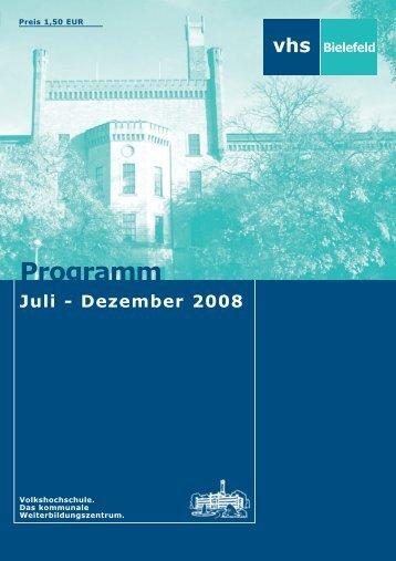 082 seite u1 bis u4 umschlagseiten.qxp - Volkshochschule Bielefeld