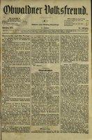 Obwaldner Volksfreund 1892 - Page 5