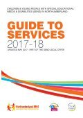 Northumberland county council - SEND Guide to services - Page 2