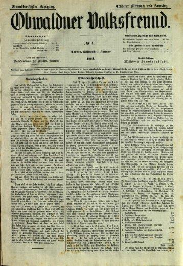 Obwaldner Volksfreund 1902