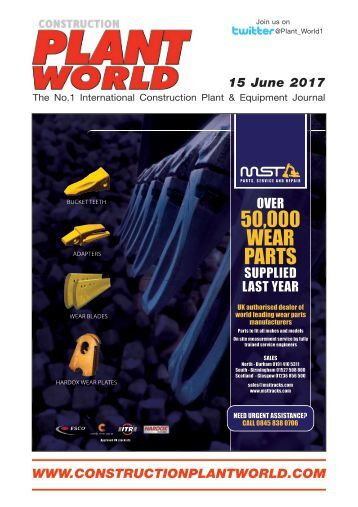 Construction Plant World 15th June 2017