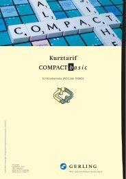 Kurztarif COMPACT basic - VUV GmbH