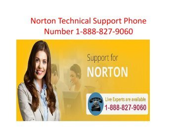 Norton Customer Service  Number 1-888-827-9060
