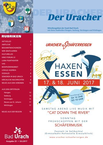 Der Uracher KW 23-2017