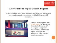 Reparation iPhone 6s plus with Six Months Guarantee | iDoctor