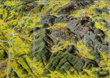 Panoramakarte Fichtelgebirge