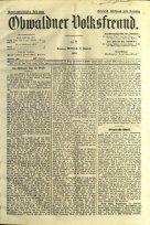 Obwaldner Volksfreund 1909 - Page 5