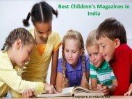 Best Children's Magazines to Subscribe in India