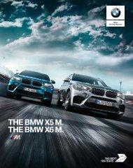 BMW X5 M og X6 M