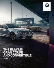 BMW M6 Gran Coupé, Coupé og Cabriolet dec_2017