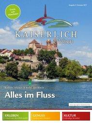 Kaiserlich Erleben, Ausgabe Juni 2017